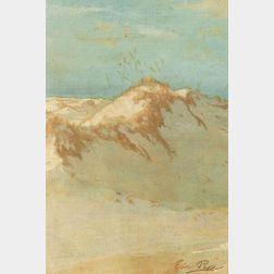 Eric Pape (American, 1870-1938)  The Dunes, Annnisquam, Massachusetts, Circa 1900