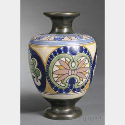 Gouda Matte Glaze Pottery Vase