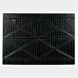 Tomasz Tatarczyk (Polish, b. 1947)      Czarna Brama  [Black Gate] (Diptych)