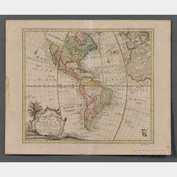 North and South America. Leonhard Von Euler (1707-1783)   Tab. Geogr. Americae ad Emendatiora quae adhuc Prodierunt exampla jussu