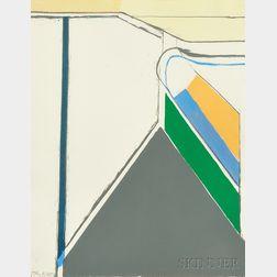 Richard Diebenkorn (American, 1922-1993)      Untitled (Ocean Park)