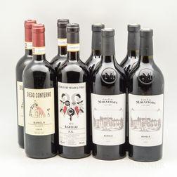 Mixed Barolo, 8 bottles