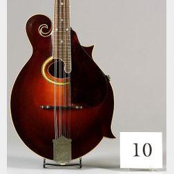American Mandolin, Gibson Mandolin-Guitar Company, Kalamazoo, 1921, Model F-4