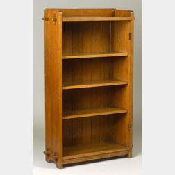 L. & J. G. Stickley Oak Bookcase