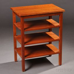 Stickley Three-shelf Stand