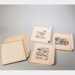 Sixteen Japanese Textile Patterns