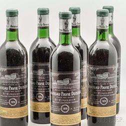 Chateau Pavie Decesse 1970, 11 bottles