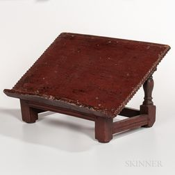 Red-painted Book Stand