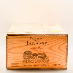 Domaine de la Janasse Chateauneuf du Pape Vieilles Vignes 2007, 12 bottles (owc)