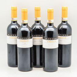 Giovanni Manzone Barolo Castelletto 2013, 5 bottles