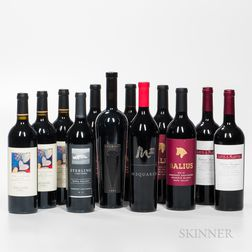 Mixed Califonia Wines, 12 bottles
