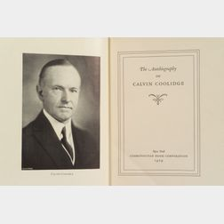 Coolidge, Calvin (1872-1933), and Coolidge, Grace (1879-1957)