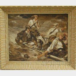 Harry C. Edwards  (American, 1868-1922)      Pirates Under Siege.