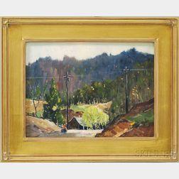 John F. Enser (American, 1898-1968)      The Willow Tree.