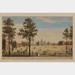 Hand-colored Prints, English, 18th Century, Bound Volume.