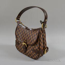 Louis Vuitton Highbury Damier Leather Handbag