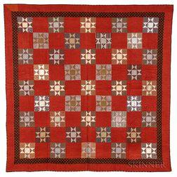 Pieced Cotton Quilt