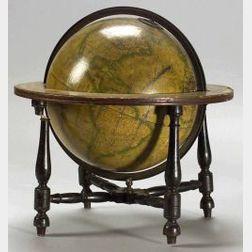 Cary's Twelve Inch Terrestrial Globe on Ebonized Stand