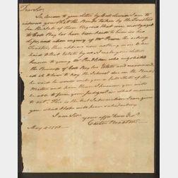 Braxton, Carter (1736-1797), Signer from Virginia