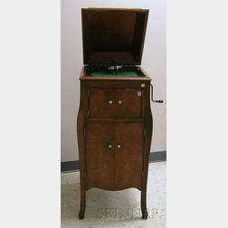 Oak Victrola X by the Victor Talking Machine Company