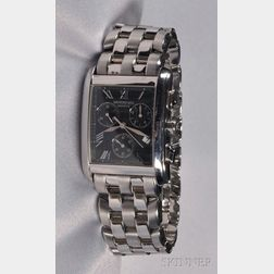 Stainless Steel Chronograph Wristwatch, Raymond Weil