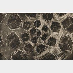 Mel Bochner (American, b. 1940)      Untitled (Cubes)