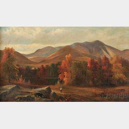 Samuel W. Griggs (American, 1827-1898)      Autumn Scene