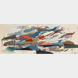 Robert Goodnough (American, 1917-2010)      Movement J Boat
