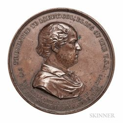 Bronze 1849 Colonel Bliss Medal