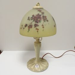 Handel Glass Boudoir Lamp
