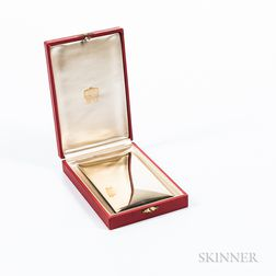 Watrous Sterling Silver-gilt Cigarette Case
