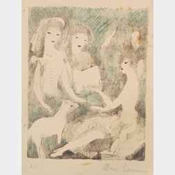 Marie Laurencin (French, 1883-1956)    The Concert