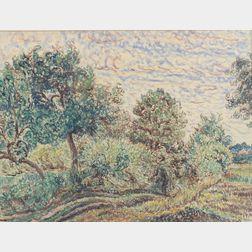 Jean Jadelot (French, 1875-1944)      Landscape