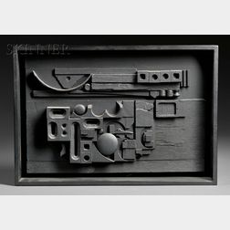 Louise Nevelson (American, 1899-1988)      Sun-Set