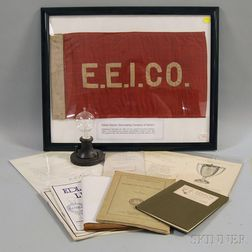 Group of Edison Electric Illuminating Company Items