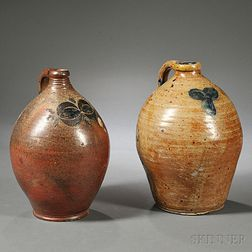 Two Stoneware Jugs