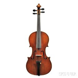 German Violin, Heinrich Th. Heberlein, Jr., Markneukirchen, 1911