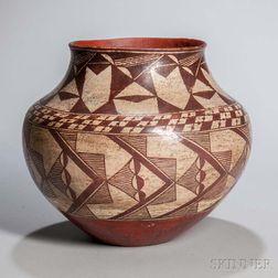Acoma Painted Pottery Jar