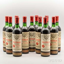 Chateau Petrus 1967, 12 bottles
