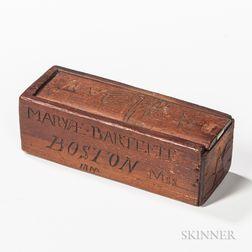 Carved Slide-lid Box
