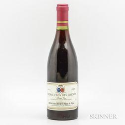 Remoissenet Pere et Fils Volnay Clos de Chenes 1978, 1 bottle