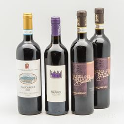Mixed Italian Reds, 4 bottles