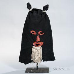 Folk Art Cloth Mask