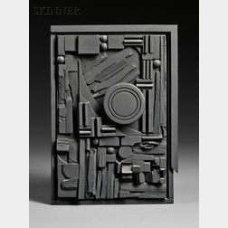 Louise Nevelson (American, 1899-1988)      City-Sunscape