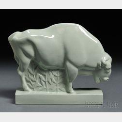 Wedgwood Skeaping Model of a Bison