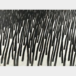 Leon Tarasewicz (Polish, b. 1957)      Untitled   [Forest]