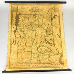 Lewis Robinson Map of Vermont and New Hampshire