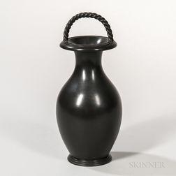 Wedgwood Black Basalt Vase