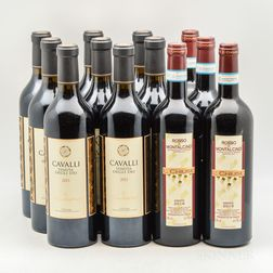 Mixed Italian Reds, 12 bottles