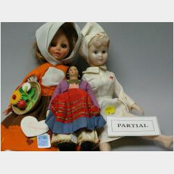 Large Lot of Miscellaneous Dolls